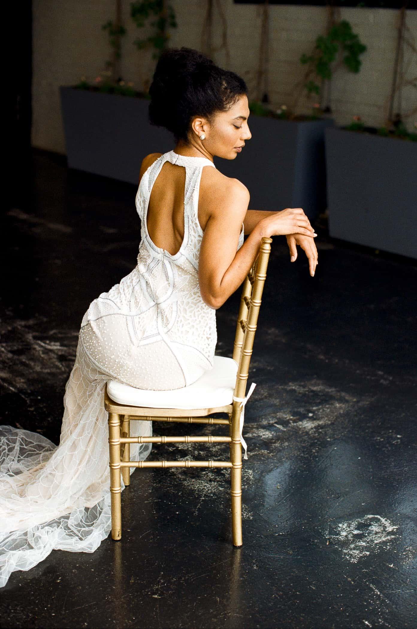 Styled Shoot: Cristalle Brides (Brooklyn, New York) - Black Nuptials