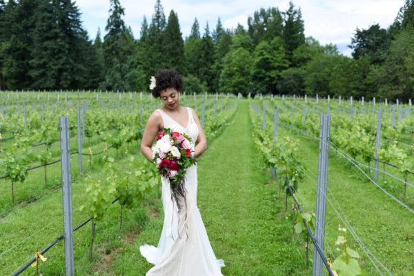 Boho Styled Shoot At Windy Hills Winery Washington
