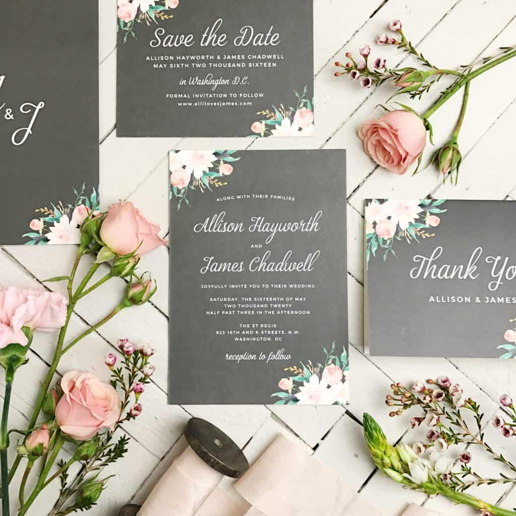 Vendor Spotlight: Basic Invite For Custom Wedding