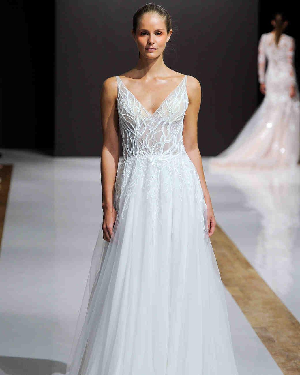 Wedding Gowns In Nyc: Mark Zunino, Bridal Fall 2018, New York City, October 2017