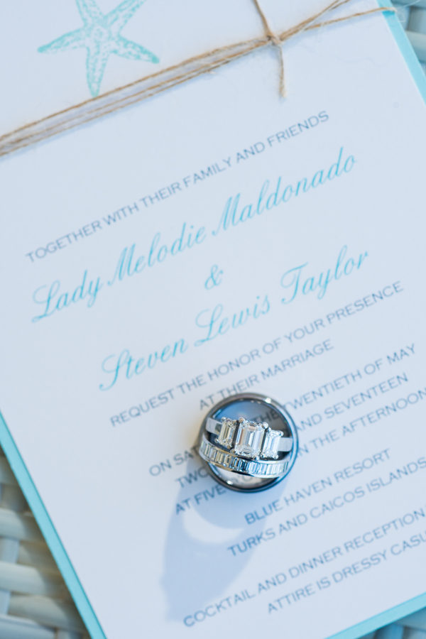 Turks & Caicos Destination Wedding - Black Nuptials