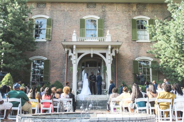 Taylor Mansion Wedding Ohio Black Nuptials