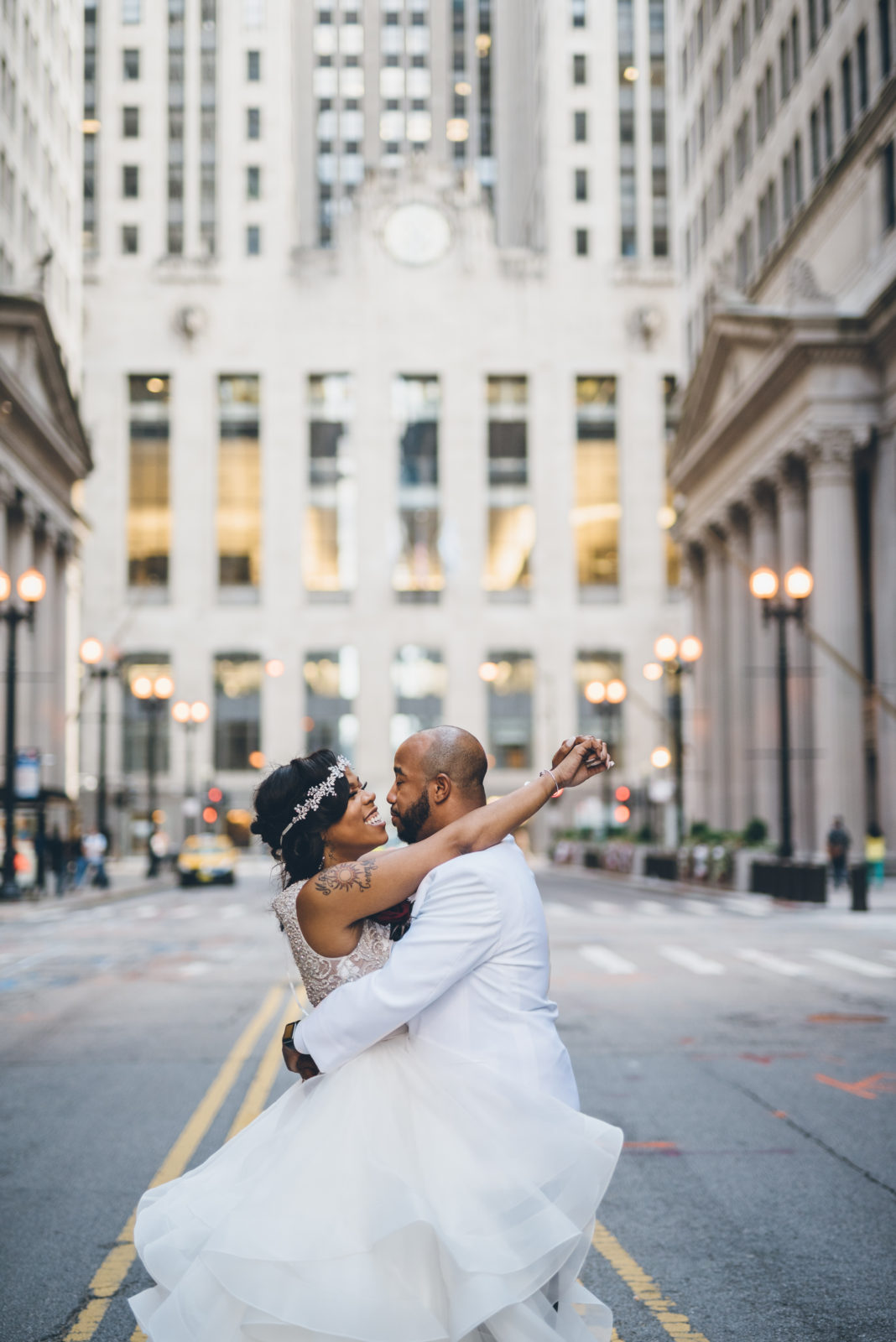 75a5039038 Urban Chic Black and White Wedding (Chicago) - Black Nuptials