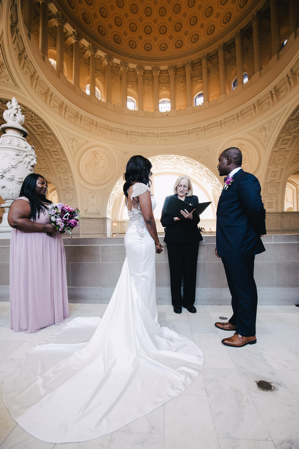 San Francisco City Hall Wedding 9 Years In The Making