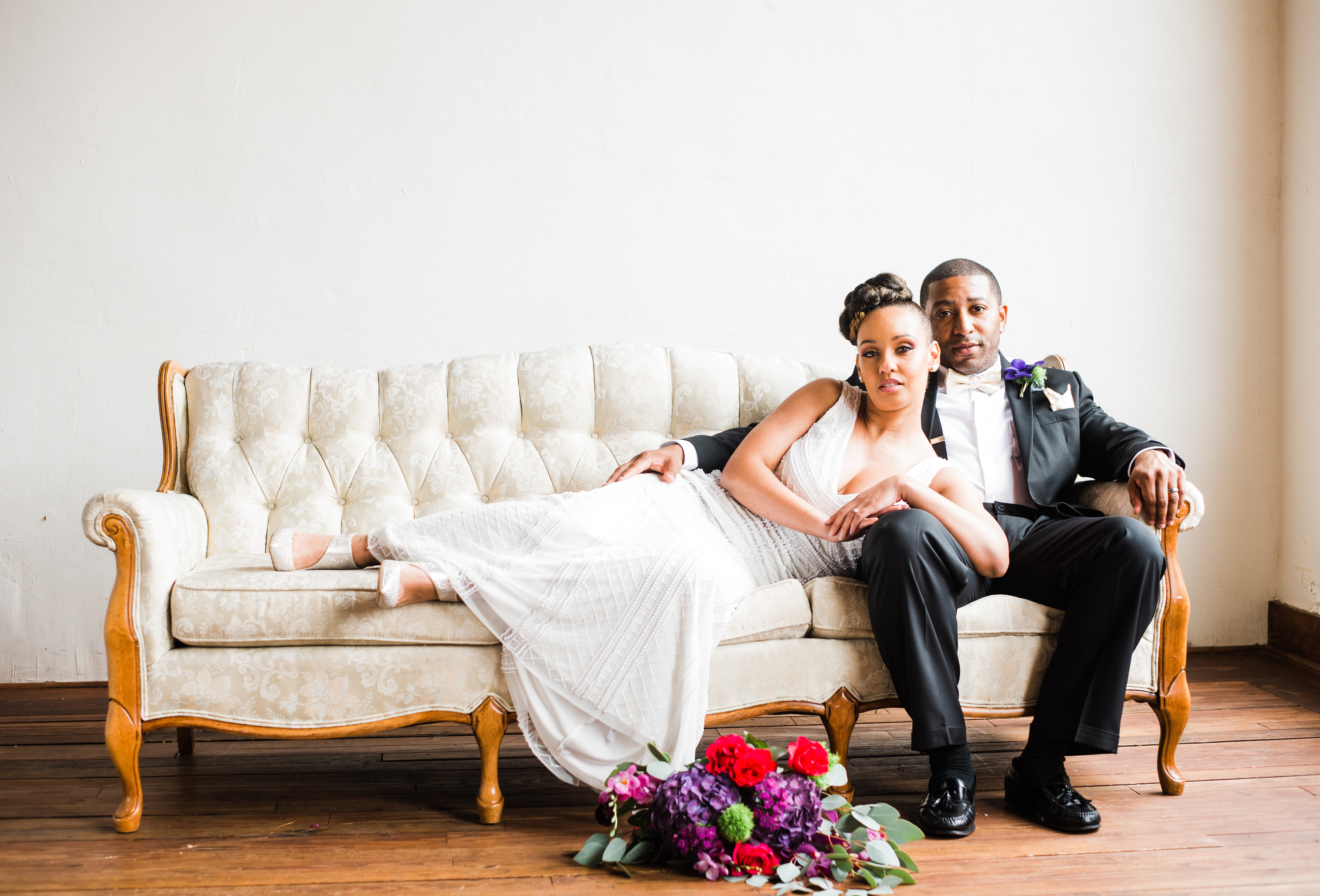 Mardi Gras Styled Wedding Shoot (Georgia) - Black Nuptials