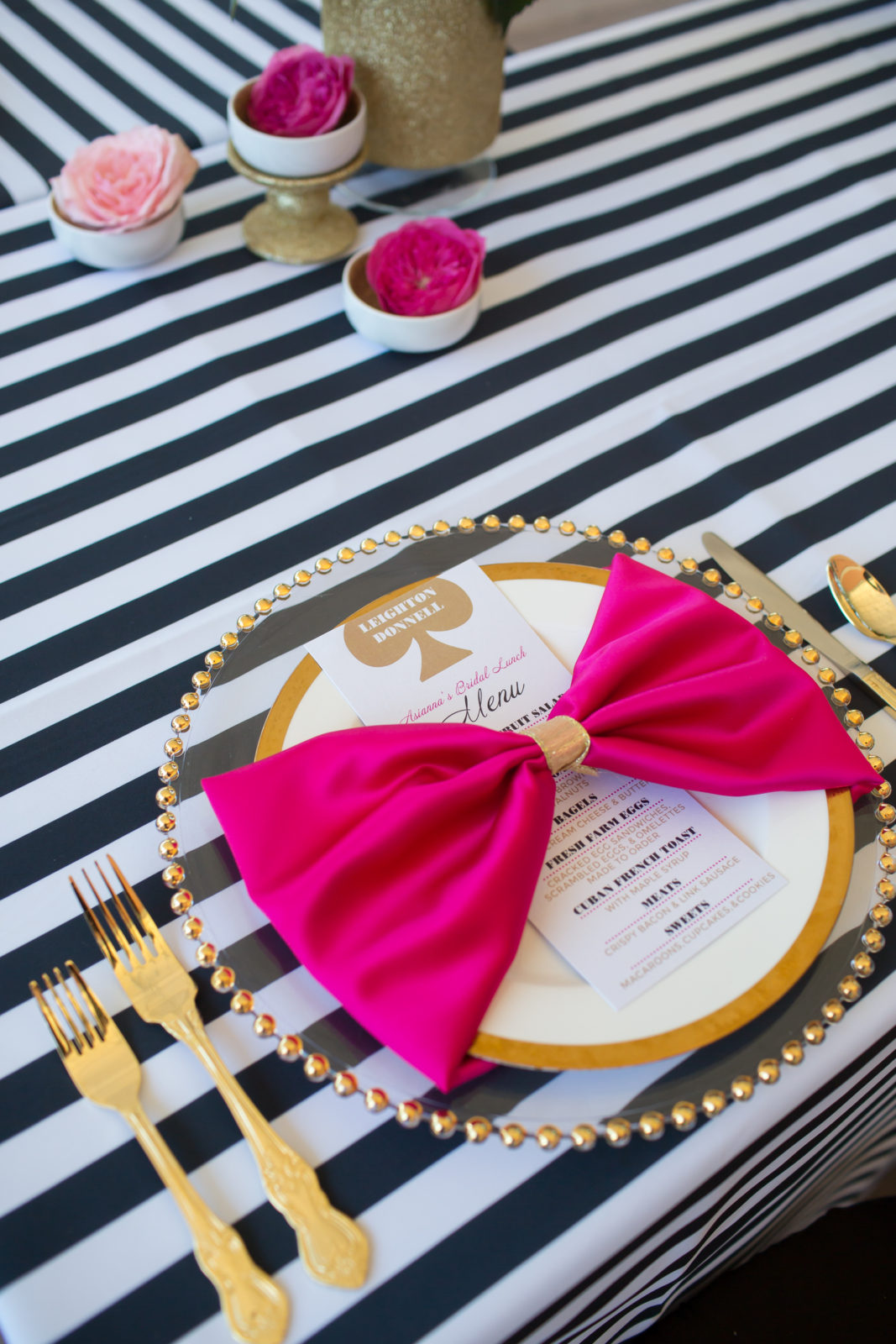 kate spade inspired bridal shower florida