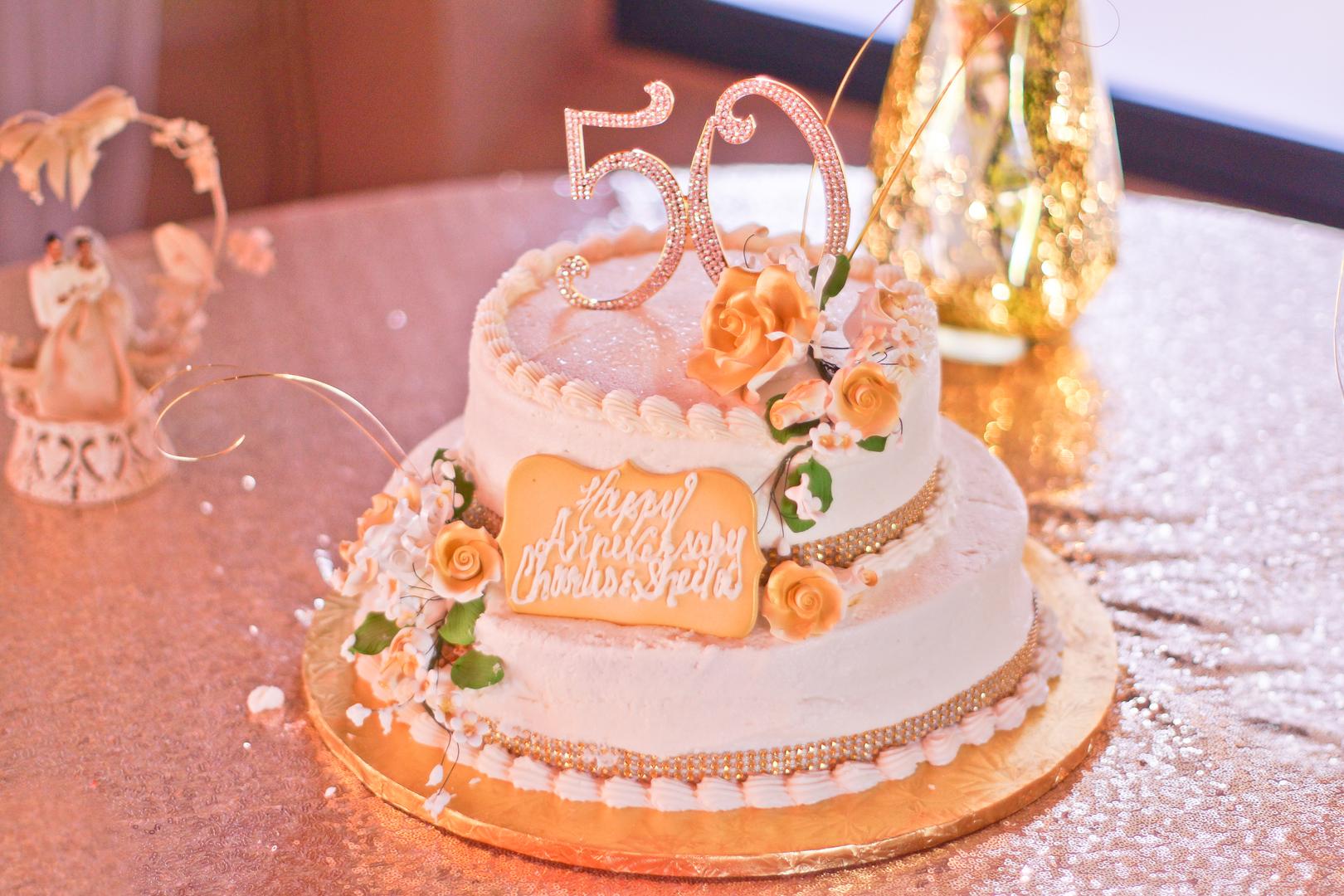 50 Golden Years Wedding Anniversary (California) - Black Nuptials